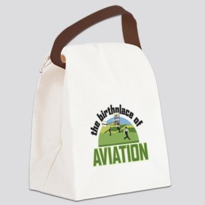 Birthplace of Aviation Canvas Lunch Bag