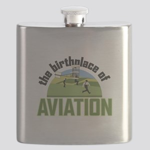 Birthplace of Aviation Flask