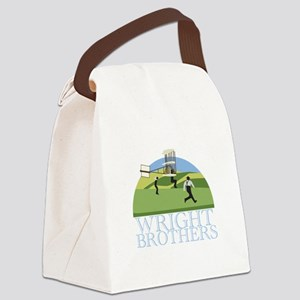Wright Brothers Canvas Lunch Bag