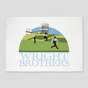 Wright Brothers 5'x7'Area Rug