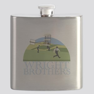 Wright Brothers Flask