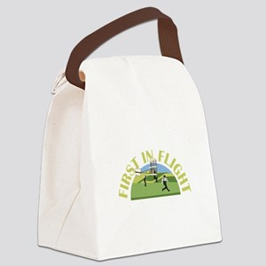 First in Flight Canvas Lunch Bag