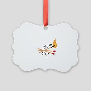 Strike One Ornament