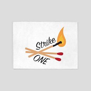 Strike One 5'x7'Area Rug