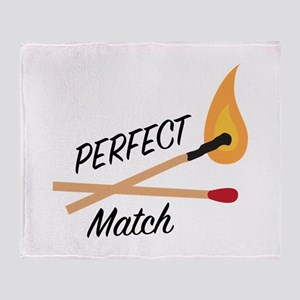 Perfect Match Throw Blanket