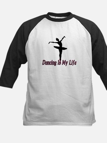 Dancing Life Kids Baseball Jersey