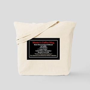 Master's Mug Tote Bag