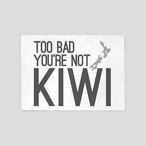 Too bad you're not KIWI! 5'x7'Area Rug