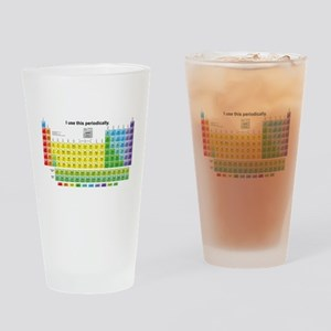 Periodically Drinking Glass