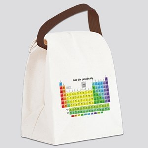 Periodically Canvas Lunch Bag