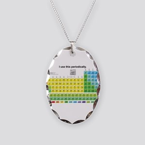 Periodically Necklace Oval Charm
