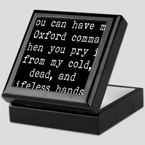 You Can Have My Oxford Comma When You Keepsake Box
