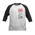 Iraq Stamp Kids Baseball Jersey