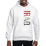 Iraq Stamp Hooded Sweatshirt