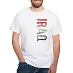 Iraq Stamp White T-Shirt