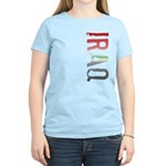 Iraq Stamp Women's Light T-Shirt