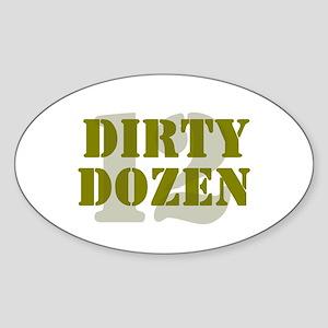 DIRTY DOZEN - 12 Sticker