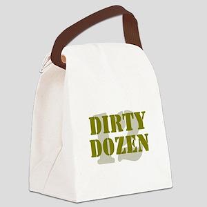 DIRTY DOZEN - 12 Canvas Lunch Bag