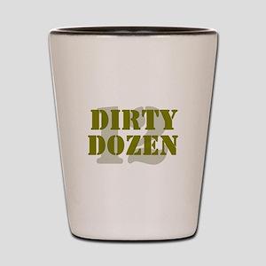 DIRTY DOZEN - 12 Shot Glass