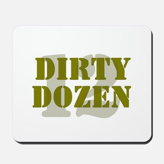 DIRTY DOZEN - 12 Mousepad