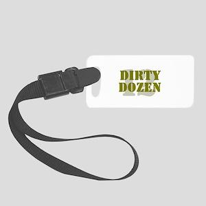 DIRTY DOZEN - 12 Small Luggage Tag