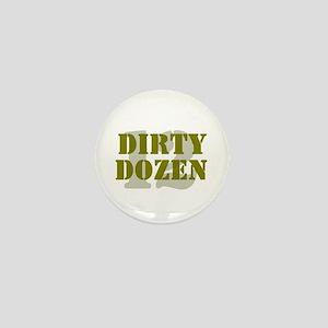 DIRTY DOZEN - 12 Mini Button