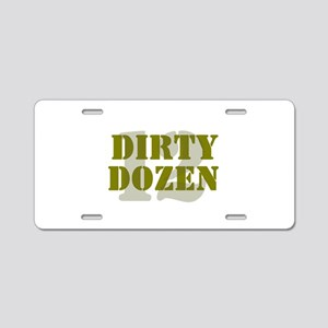 DIRTY DOZEN - 12 Aluminum License Plate