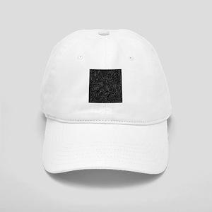 Black Flourish Cap
