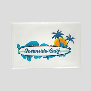 Oceanside - California. Rectangle Magnet