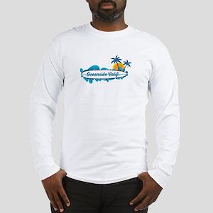 Oceanside - California. Long Sleeve T-Shirt