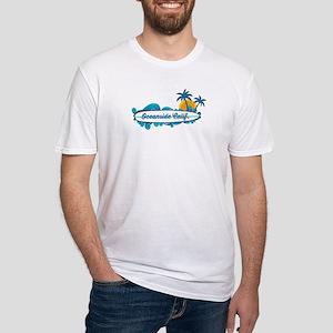 Oceanside - California. Fitted T-Shirt