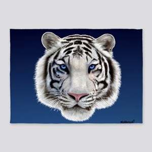 Eyes of the Tiger 5'x7'Area Rug