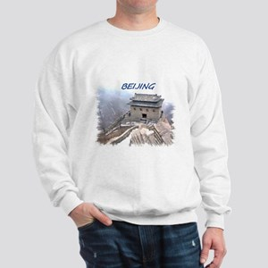 Beijing And The Great Wall Sweatshirt
