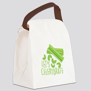 Lets Celerybrate Canvas Lunch Bag