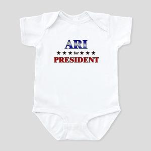 ARI for president Infant Bodysuit
