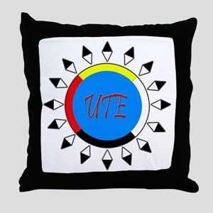 Ute Throw Pillow