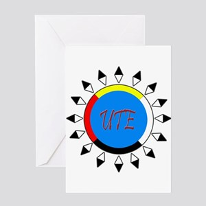 Ute Greeting Card