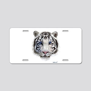 Eyes of the Tiger Aluminum License Plate