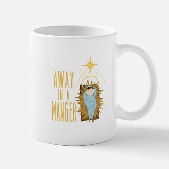 Away In Manger Mugs