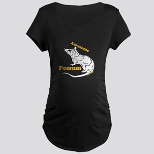 Awesome Possum Maternity T-Shirt