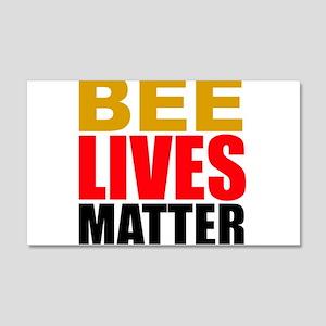 Bee Lives Matter Wall Decal