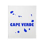 Cape Verde Islands Throw Blanket