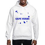 Cape Verde Islands Hooded Sweatshirt