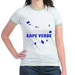 Cape Verde Islands Jr. Ringer T-Shirt