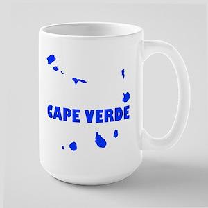Cape Verde Islands Large Mug