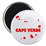 """Cape Verde Islands Magnet 2.25"""" Magnets"""