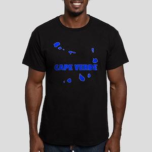 Cape Verde Islands Men's Fitted T-Shirt (dark)