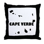Cape Verde Islands Throw Pillow