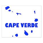 Cape Verde Islands Small Poster