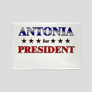 ANTONIA for president Rectangle Magnet